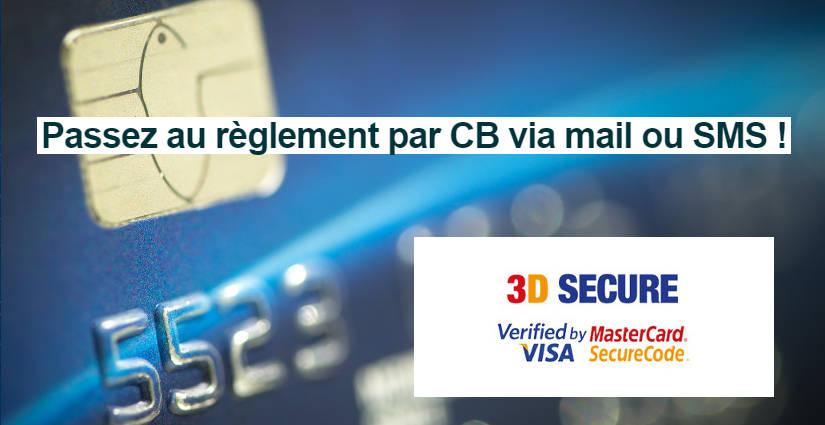 règlement CB 3d secure